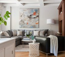 Small-Space Solution   33 Modern Living Room Design Ideas - Real